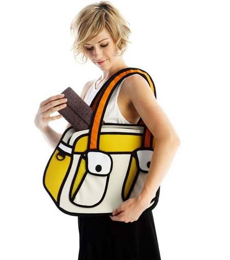 Мультяшные или настоящие? Необычные сумки JumpFromPaper. — фото 2