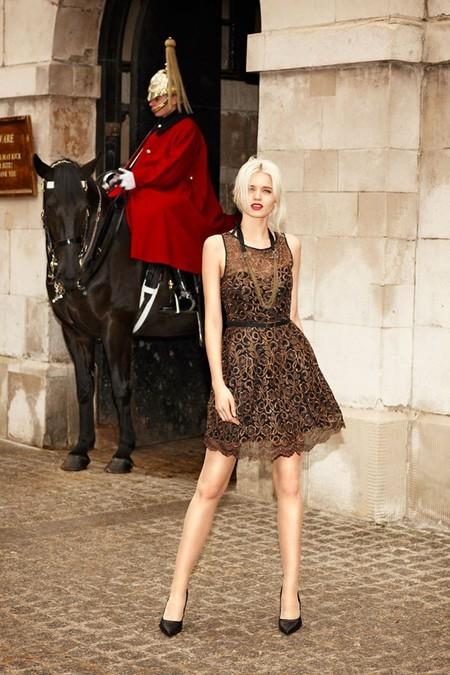 Кружевные мини-платья Portmans