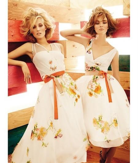 Платья с яркими поясами