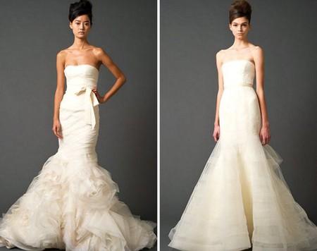 свадебные прически русалка