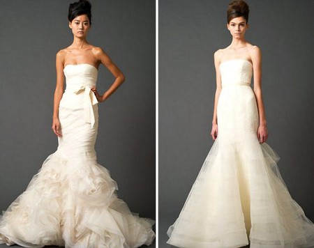 Платье-русалка от Vera Wang