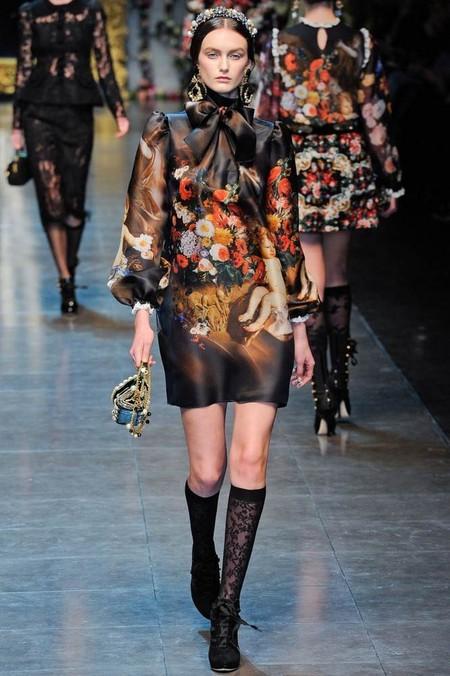 Мода на роскошь: стиль барокко в коллекциях осень-зима 2012-2013 — фото 17