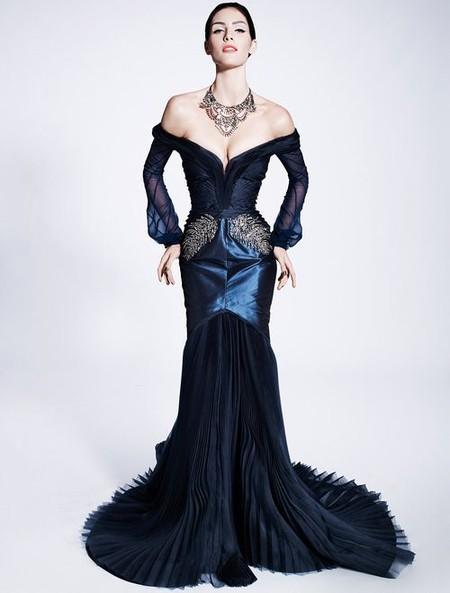 Королевская роскошь и женственность в коллекции Zac Posen pre-fall 2012 — фото 26
