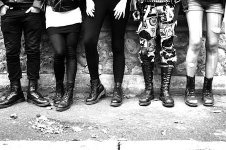 Мода на брутальность: тимберленды и мотоциклетные ботинки — фото 21