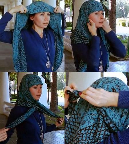 Как завязать платок — фото 11