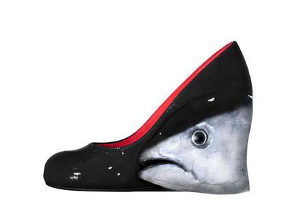 Оригинальные фантазийные туфельки от Йорико Юды — фото 3