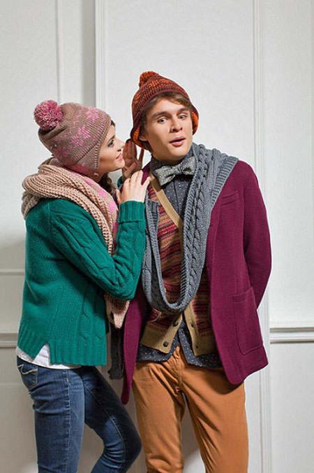 Вязаные шапки и шарфы от Imojo