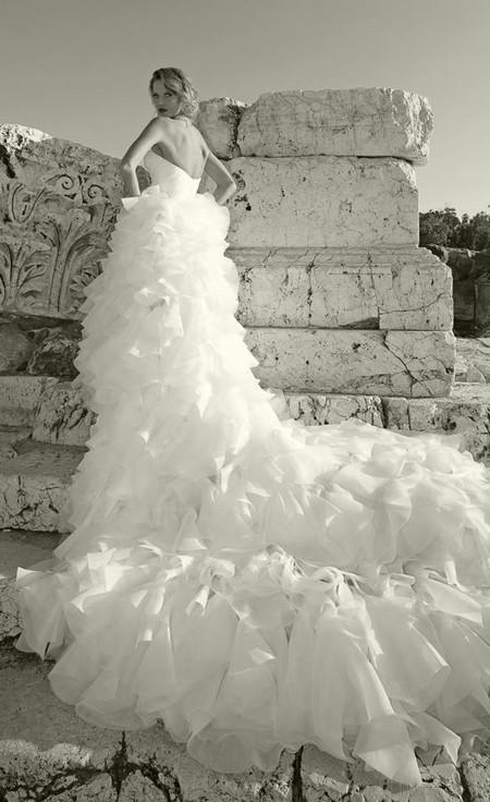 Свадебное платье от израильского дизайнера Дани Мизрахи
