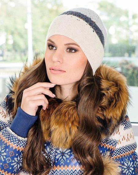 Стильные вязаные шапочки от Éffré: коллекция осень-зима 2012-2013 — фото 20