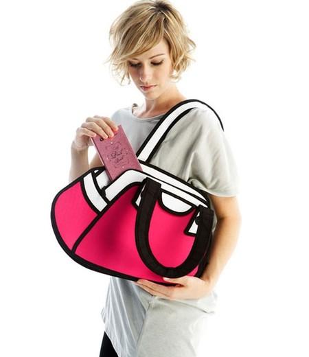 Мультяшные или настоящие? Необычные сумки JumpFromPaper. — фото 11