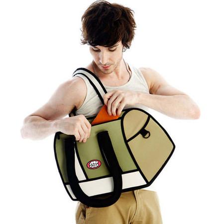 Мультяшные или настоящие? Необычные сумки JumpFromPaper. — фото 16