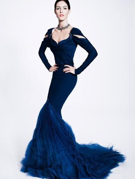 Королевская роскошь и женственность в коллекции Zac Posen pre-fall 2012 — фото 27