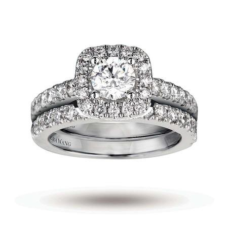 Свадебное кольцо от Vera Wang