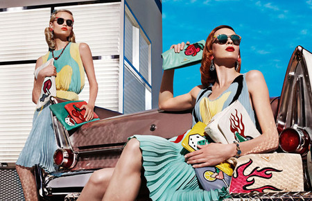 Коллекция Prada весна-лето 2012