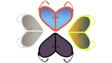 Новая серия очков Linda Farrow в форме сердца