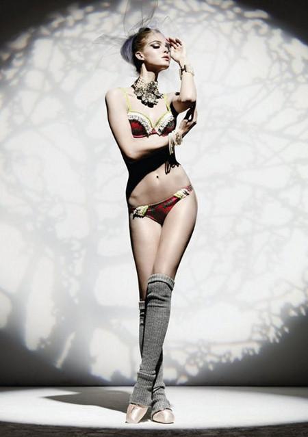 Мода и искусство в коллекции белья John Galliano — фото 1