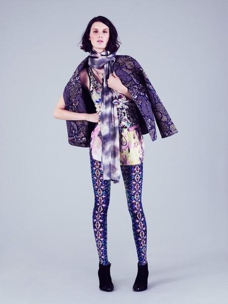 Привет из 80-х: модные леггинсы 2012 — фото 11