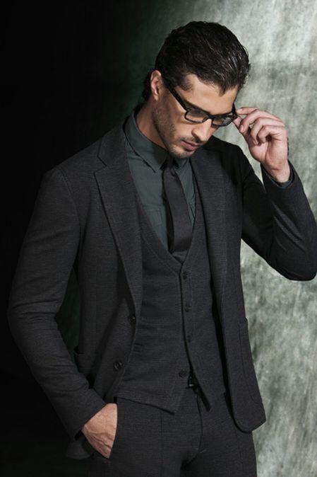Вязаная мужская одежда 2012: составляем теплый и стильный гардероб — фото 15
