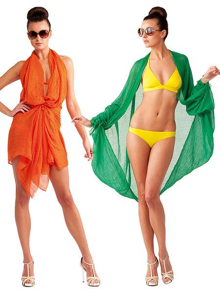 Как сделать пляжный костюм
