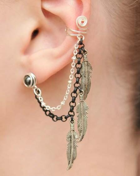 Каффы – модные украшения для ушей и не только… — фото 26