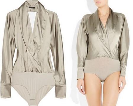 Блузка-боди от Donna Karan