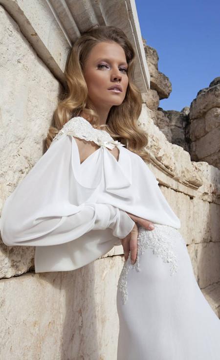 Свадебный сезон 2012: свежая кутюрная коллекция Дани Мизрахи — фото 13