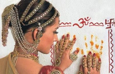 Украшения индийских девушек