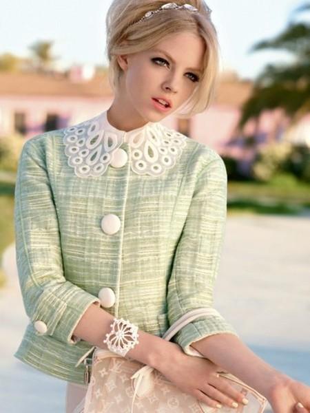 Стиль 50-х. Одежда и сумка Louis Vuitton.