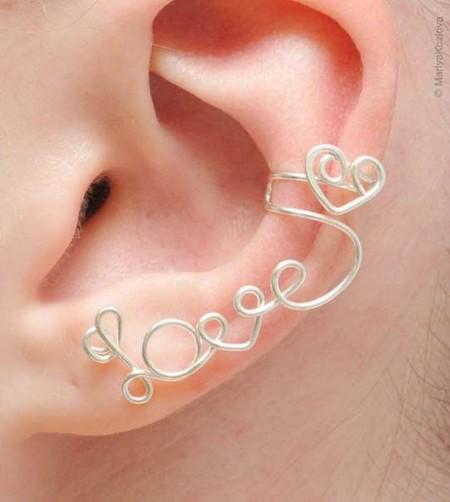 Каффы – модные украшения для ушей и не только… — фото 25