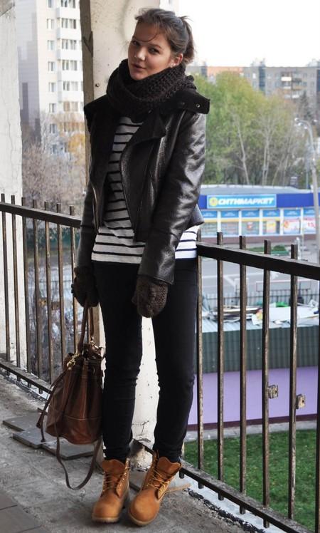 Мода на брутальность: тимберленды и мотоциклетные ботинки — фото 25