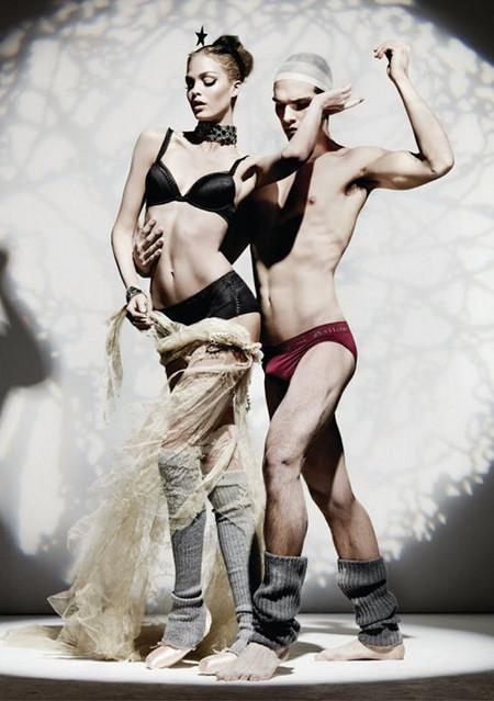 Мода и искусство в коллекции белья John Galliano — фото 2