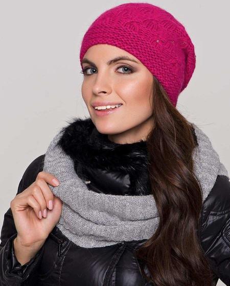Стильные вязаные шапочки от Éffré: коллекция осень-зима 2012-2013 — фото 3