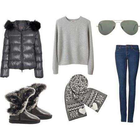 С чем носить угги: джинсы, джемпера и свитера