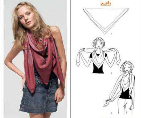 Как завязать платок — фото 3