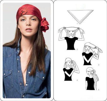 Как завязать платок — фото 14