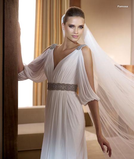 Божественная линия снова в моде: греческий стиль 2013 — фото 25