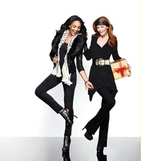 Праздничная коллекция женской одежды Bebe Holiday 2011/2012 — фото 14