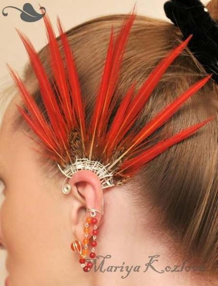 Каффы – модные украшения для ушей и не только… — фото 24