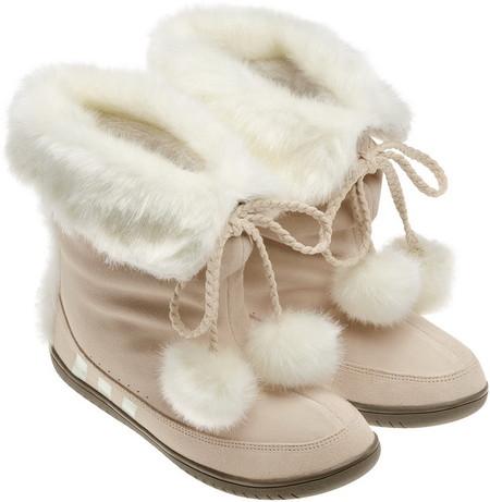 Обувь с меховой отделкой