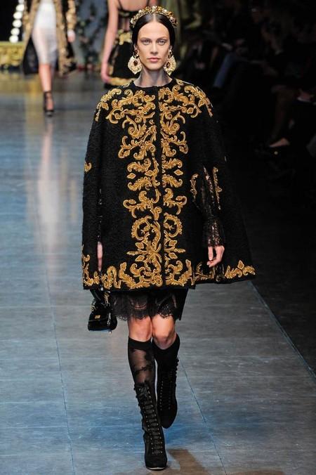 Мода на роскошь: стиль барокко в коллекциях осень-зима 2012-2013 — фото 9