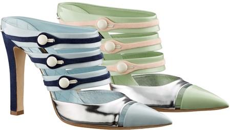 Акцент на носок: в моде обувь с заостренным носом — фото 11