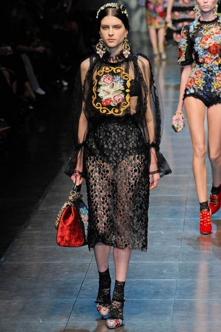 Мода на роскошь: стиль барокко в коллекциях осень-зима 2012-2013 — фото 14