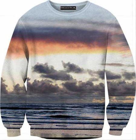 Серия свитеров SMOOOOTH с изображением природных красот