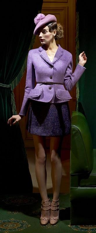 Интерпретациябаски в новых жакетах Dior