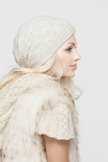 Стильные вязаные шапочки от Éffré: коллекция осень-зима 2012-2013 — фото 6