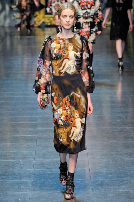 Мода на роскошь: стиль барокко в коллекциях осень-зима 2012-2013 — фото 15
