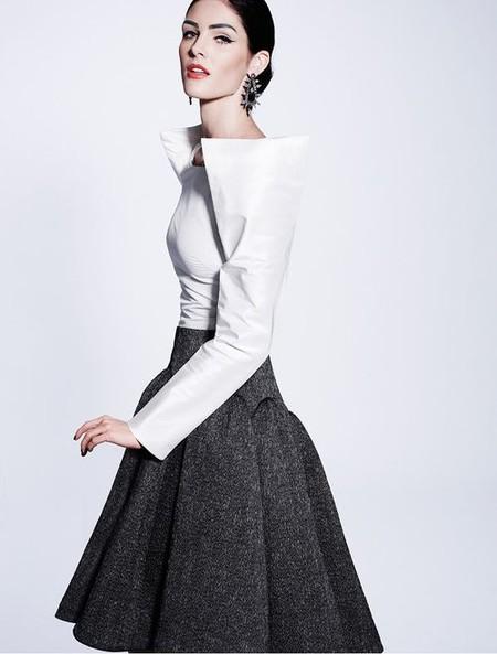 Королевская роскошь и женственность в коллекции Zac Posen pre-fall 2012 — фото 12