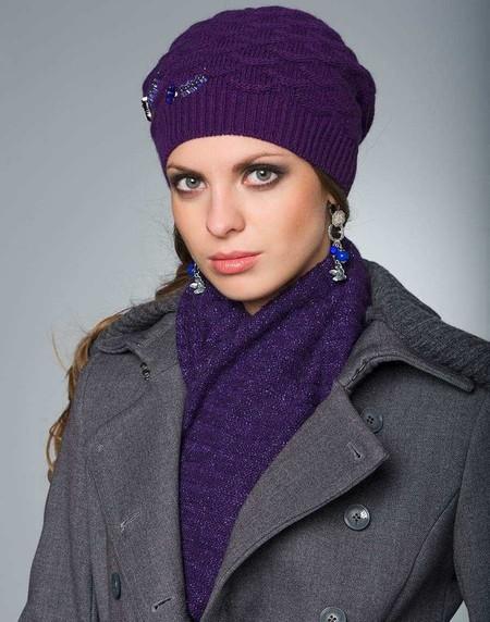 Стильные вязаные шапочки от Éffré: коллекция осень-зима 2012-2013 — фото 2