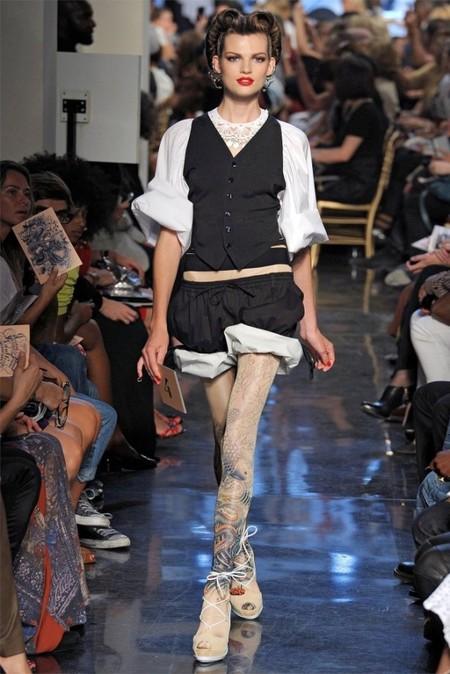 Коротко о брюках: шорты. Самые трендовые модели лета 2012 — фото 23