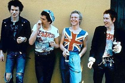 Британская группа Sex Pistols